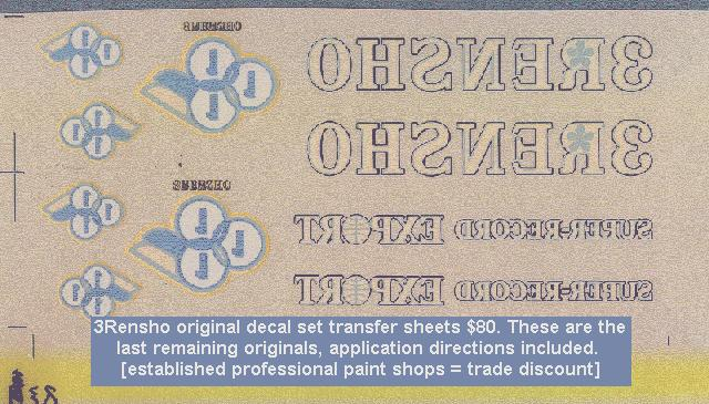 This is a scan of the carrier sheet over the decals