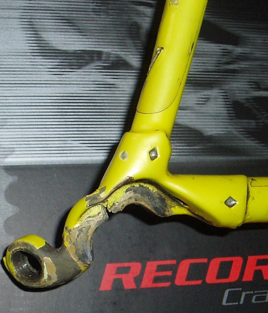Borga Italian Frame Repair & Dent Work at Yellow Jersey