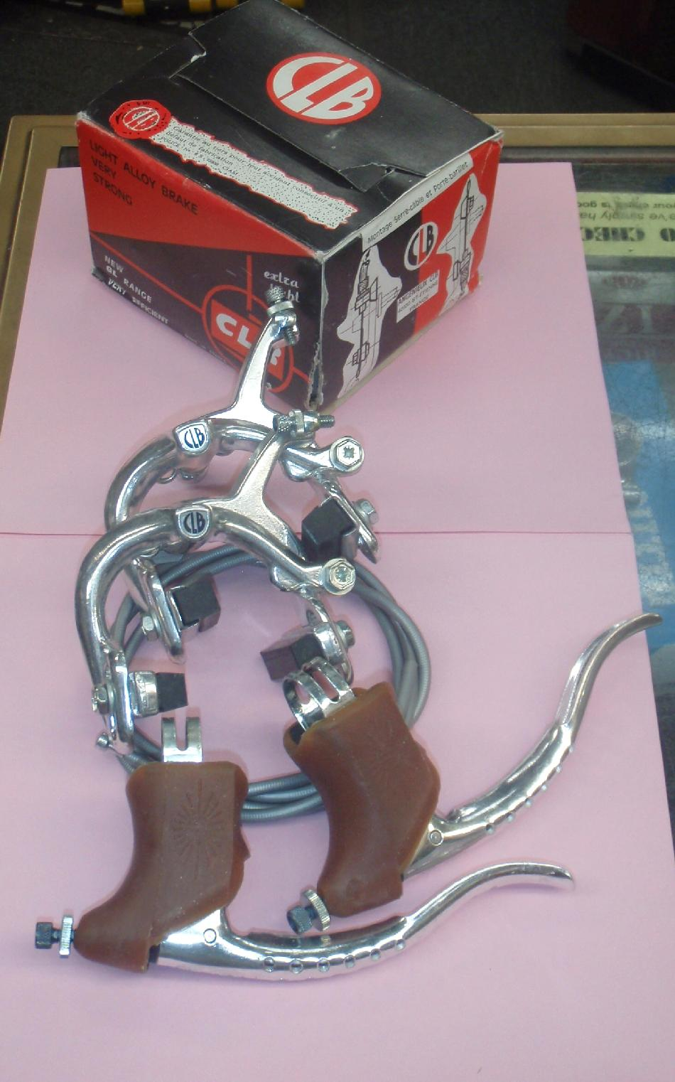 C  L  B  Classic French Bicycle Brakes and Service Parts for CLB Brakes