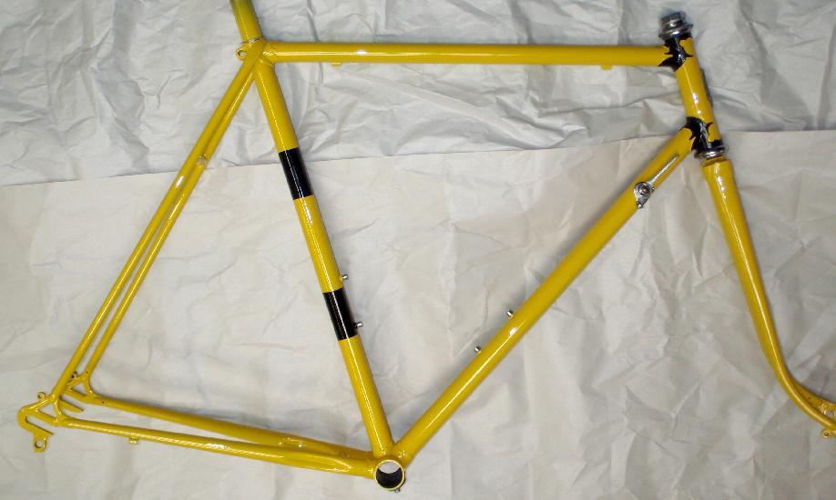 Bicycle Frame Repair Paint Refinishing Restoration Respray Tube ...