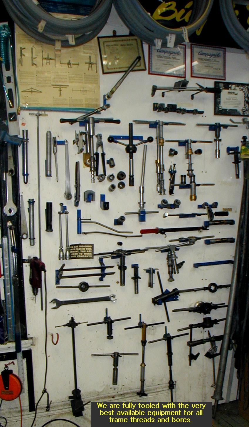 and there are many many banks of tool chests besides.