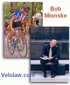 Bob was US National Road Champion in our Yellow Jersey jersey